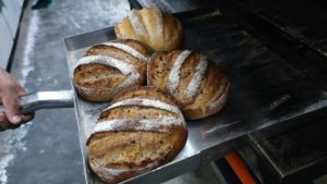 Natural Yeast Bread baked