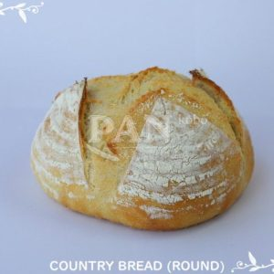 COUNTRY BREAD (ROUND) BY JAPANESE BAKERY IN MALAYSIA