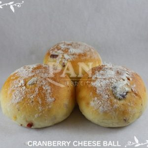 CRANBERRY CHEESE BALL BY JAPANESE BAKERY IN MALAYSIA