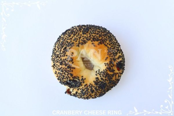 CRANBERRY CHEESE RING BY JAPANESE BAKERY IN MALAYSIA