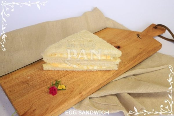 EGG SANDWICH BY JAPANESE BAKERY IN MALAYSIA