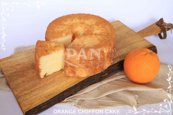 ORANGE CHIFFON CAKE BY JAPANESE BAKERY IN MALAYSIA