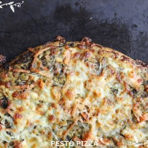 PESTO PIZZA BY JAPANESE BAKERY IN MALAYSIA
