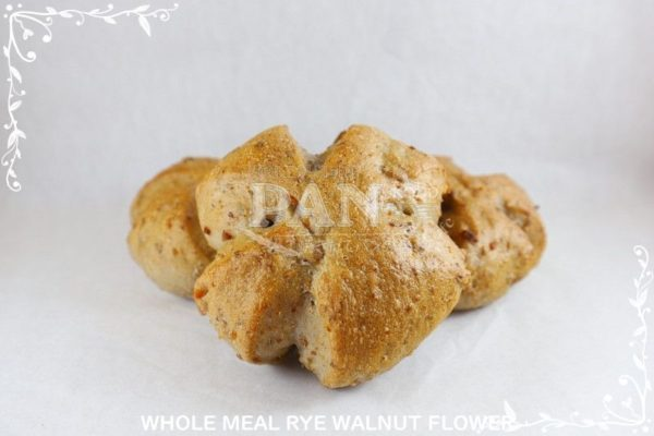 WHOLEMEAL RYE WALNUT FLOWER BY JAPANESE BAKERY IN MALAYSIA